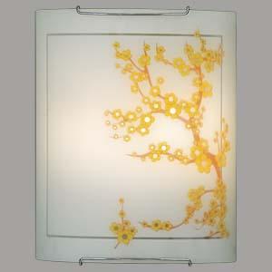 Citilux Сакура CL922141 Светильник настенный браНакладные<br><br><br>S освещ. до, м2: 13<br>Тип лампы: накаливания / энергосбережения / LED-светодиодная<br>Тип цоколя: E27<br>Количество ламп: 2<br>Ширина, мм: 240<br>MAX мощность ламп, Вт: 100<br>Размеры: Стеклянный рассеиватель, Высота 30см, Ширина 24см, Глубина 11см.<br>Расстояние от стены, мм: 110<br>Высота, мм: 300<br>Поверхность арматуры: глянцевый<br>Цвет арматуры: серебристый