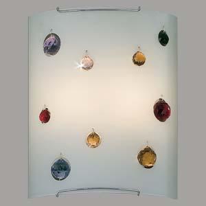 Citilux Оникс CL922321 Светильник настенный бранакладные настенные светильники<br><br><br>S освещ. до, м2: 13<br>Тип лампы: накал-я - энергосбер-я<br>Тип цоколя: E27<br>Цвет арматуры: серебристый<br>Количество ламп: 2<br>Ширина, мм: 240<br>Расстояние от стены, мм: 110<br>Высота, мм: 300<br>MAX мощность ламп, Вт: 100