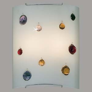 Citilux Оникс CL922321 Светильник настенный браНакладные<br><br><br>S освещ. до, м2: 13<br>Тип лампы: накал-я - энергосбер-я<br>Тип цоколя: E27<br>Количество ламп: 2<br>Ширина, мм: 240<br>MAX мощность ламп, Вт: 100<br>Расстояние от стены, мм: 110<br>Высота, мм: 300<br>Цвет арматуры: серебристый