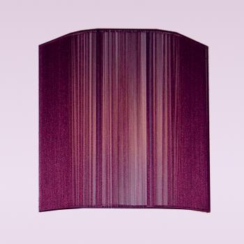 Citilux Бордовый CL923012 Светильник настенный браНакладные<br><br><br>S освещ. до, м2: 4<br>Тип лампы: накаливания / энергосбережения / LED-светодиодная<br>Тип цоколя: E14<br>Количество ламп: 1<br>Ширина, мм: 250<br>MAX мощность ламп, Вт: 60<br>Размеры: Нитяной рассеиватель, Высота 25см, Ширина 25см, Глубина 11см.<br>Расстояние от стены, мм: 110<br>Высота, мм: 250<br>Поверхность арматуры: матовый<br>Цвет арматуры: серебристый