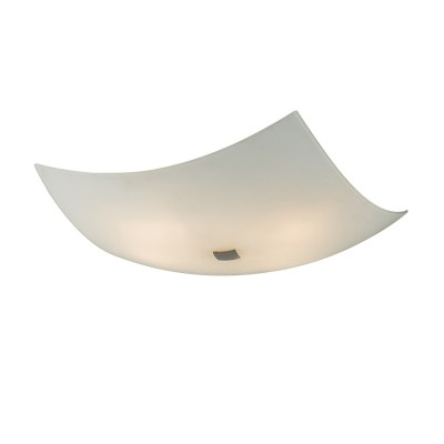 Citilux Белый CL932011 Светильник настенно-потолочныйКвадратные<br>Настенно потолочный светильник Citilux (Ситилюкс) CL932011  подходит как для установки в вертикальном положении - на стены, так и для установки в горизонтальном - на потолок. Для установки настенно потолочных светильников на натяжной потолок необходимо использовать светодиодные лампы LED, которые экономнее ламп Ильича (накаливания) в 10 раз, выделяют мало тепла и не дадут расплавиться Вашему потолку.<br><br>S освещ. до, м2: 26<br>Тип лампы: накаливания / энергосбережения / LED-светодиодная<br>Тип цоколя: E27<br>Цвет арматуры: серебристый<br>Количество ламп: 4<br>Ширина, мм: 500<br>Размеры: Габариты<br>Расстояние от стены, мм: 130<br>Поверхность арматуры: глянцевый<br>MAX мощность ламп, Вт: 100