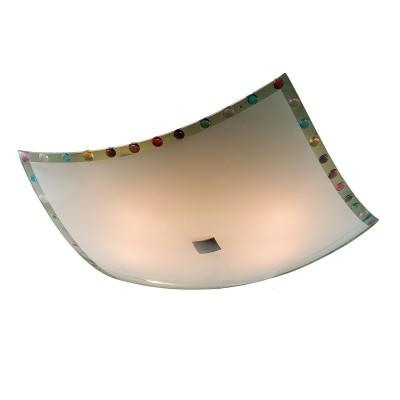 Светильник настенно-потолочный Citilux CL932301 Конфеттиквадратные светильники<br>Настенно потолочный светильник Citilux (Ситилюкс) CL932301  подходит как для установки в вертикальном положении - на стены, так и для установки в горизонтальном - на потолок. Для установки настенно потолочных светильников на натяжной потолок необходимо использовать светодиодные лампы LED, которые экономнее ламп Ильича (накаливания) в 10 раз, выделяют мало тепла и не дадут расплавиться Вашему потолку.