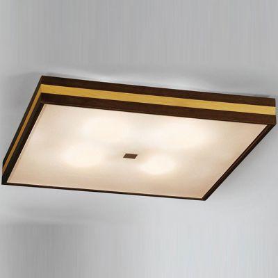 Citilux Кваттро CL940421 Светильник настенно-потолочныйКвадратные<br><br><br>S освещ. до, м2: 26<br>Крепление: потолочное<br>Тип товара: Светильник настенно-потолочный<br>Тип лампы: накаливания / энергосбережения / LED-светодиодная<br>Тип цоколя: E27<br>Количество ламп: 4<br>Ширина, мм: 560<br>MAX мощность ламп, Вт: 100<br>Размеры: Габариты 56х56х10см, Рамка из рельефного массива дерева с двухцветной тонировкой.<br>Длина, мм: 560<br>Высота, мм: 100<br>Поверхность арматуры: глянцевый<br>Оттенок (цвет): белый<br>Цвет арматуры: коричневый