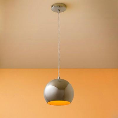Citilux Оми CL945111 Светильник подвеснойОдиночные<br><br><br>Тип товара: Светильник подвесной<br>Тип лампы: Накаливания / энергосбережения / светодиодная<br>Тип цоколя: E27<br>Количество ламп: 1<br>MAX мощность ламп, Вт: 75W<br>Размеры: Диаметр 18см, Высота 25-120см<br>Цвет арматуры: серебристый хром