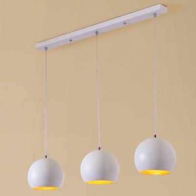 Citilux Оми CL945130 Светильник подвеснойТройные<br><br><br>Тип товара: Светильник подвесной<br>Тип цоколя: E27<br>Количество ламп: 3<br>MAX мощность ламп, Вт: 75W<br>Размеры: Основание 78х6см, Высота 30-120см<br>Цвет арматуры: Белый