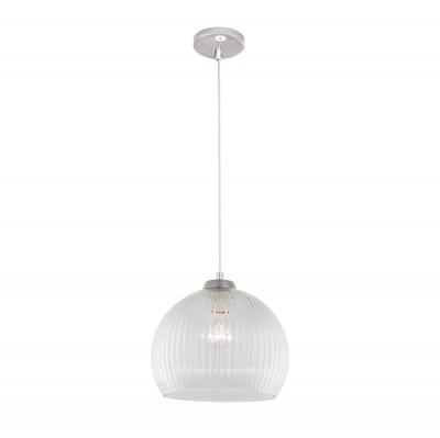 Citilux CL946250 Мартин ПодвесОдиночные<br><br><br>Тип лампы: Накаливания / энергосбережения / светодиодная<br>Тип цоколя: E27<br>Цвет арматуры: серебристый<br>Количество ламп: 1<br>Диаметр, мм мм: 250<br>Высота полная, мм: 1250<br>Высота, мм: 500<br>MAX мощность ламп, Вт: 60