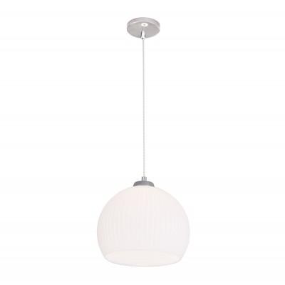 Citilux CL946251 Мартин ПодвесОдиночные<br><br><br>Тип лампы: Накаливания / энергосбережения / светодиодная<br>Тип цоколя: E27<br>Цвет арматуры: серебристый<br>Количество ламп: 1<br>Диаметр, мм мм: 250<br>Высота полная, мм: 1250<br>Высота, мм: 500<br>MAX мощность ламп, Вт: 60
