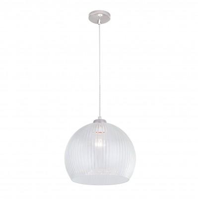 Citilux CL946300 Мартин ПодвесОдиночные<br><br><br>Тип лампы: Накаливания / энергосбережения / светодиодная<br>Тип цоколя: E27<br>Цвет арматуры: серебристый<br>Количество ламп: 1<br>Диаметр, мм мм: 300<br>Высота полная, мм: 1250<br>Высота, мм: 500<br>MAX мощность ламп, Вт: 60