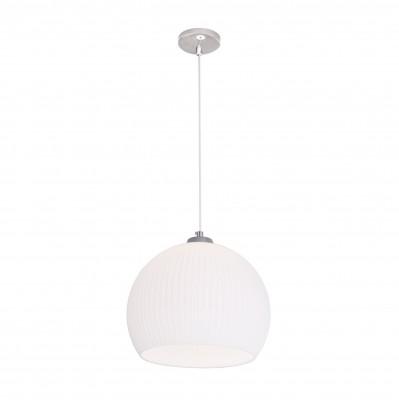 Citilux CL946301 Мартин ПодвесОдиночные<br><br><br>Тип лампы: Накаливания / энергосбережения / светодиодная<br>Тип цоколя: E27<br>Цвет арматуры: серебристый<br>Количество ламп: 1<br>Диаметр, мм мм: 300<br>Высота полная, мм: 1250<br>Высота, мм: 500<br>MAX мощность ламп, Вт: 60