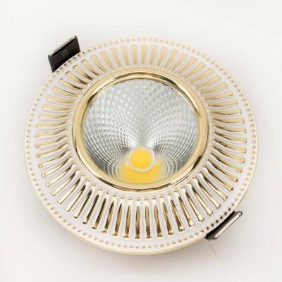 Citilux Дзета CLD042W2 Встраиваемый светильникКруглые<br><br><br>Тип товара: Встраиваемый светильник<br>Цветовая t, К: 3000K<br>Тип лампы: LED-светодиодная<br>Тип цоколя: LED<br>Количество ламп: 1<br>MAX мощность ламп, Вт: 7<br>Диаметр, мм мм: 98<br>Диаметр врезного отверстия, мм: 80<br>Высота, мм: 16<br>Цвет арматуры: Белый/Золото