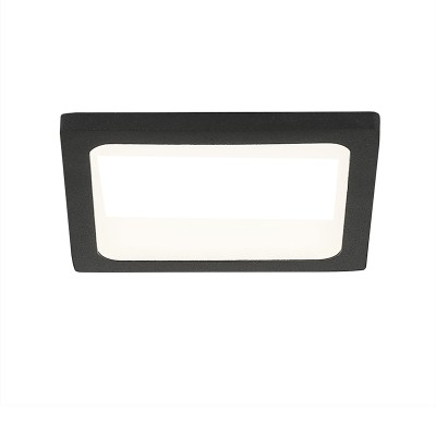 Citilux Омега CLD50K082 Светильник встраиваемыйКвадратные LED<br>Встраиваемые светильники – популярное осветительное оборудование, которое можно использовать в качестве основного источника или в дополнение к люстре. Они позволяют создать нужную атмосферу атмосферу и привнести в интерьер уют и комфорт.<br> Отличительной особенностью этой серии является минимальная глубина врезки. Она составляет всего 20 мм. Светильники представлены в трех цветах: белый, чёрный и хром.  Цветовая температура черных и хромовых светильников 3000 К. Белые светильники имеют цветовую температуру 3000К и 4000К.  Светильники имеют функцию диммера. Уровень мощности 100-50-10% управляется при помощи выключателя.<br><br>Цветовая t, К: 3000<br>Тип лампы: LED<br>Тип цоколя: LED<br>Количество ламп: 1<br>Ширина, мм: 90<br>MAX мощность ламп, Вт: 8<br>Длина, мм: 90<br>Высота, мм: 25<br>Цвет арматуры: черный
