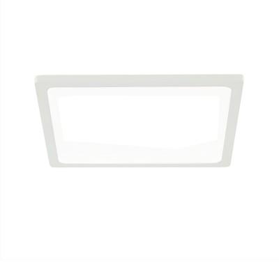 Citilux Омега CLD50K150 Светильник встраиваемыйКвадратные LED<br>Встраиваемые светильники – популярное осветительное оборудование, которое можно использовать в качестве основного источника или в дополнение к люстре. Они позволяют создать нужную атмосферу атмосферу и привнести в интерьер уют и комфорт.<br> Отличительной особенностью этой серии является минимальная глубина врезки. Она составляет всего 20 мм. Светильники представлены в трех цветах: белый, чёрный и хром.  Цветовая температура черных и хромовых светильников 3000 К. Белые светильники имеют цветовую температуру 3000К и 4000К.  Светильники имеют функцию диммера. Уровень мощности 100-50-10% управляется при помощи выключателя.<br><br>Цветовая t, К: 3000<br>Тип лампы: LED<br>Тип цоколя: LED<br>Количество ламп: 1<br>Ширина, мм: 145<br>MAX мощность ламп, Вт: 15<br>Длина, мм: 145<br>Высота, мм: 25<br>Цвет арматуры: белый