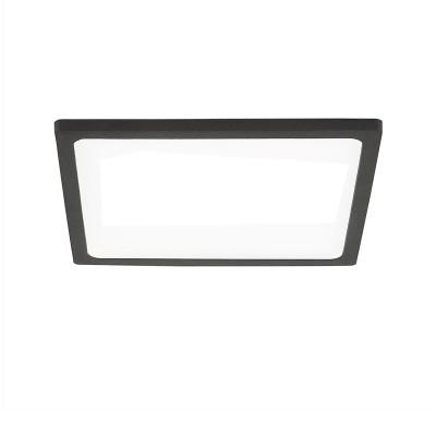 Citilux Омега CLD50K152 Светильник встраиваемыйКвадратные LED<br>Встраиваемые светильники – популярное осветительное оборудование, которое можно использовать в качестве основного источника или в дополнение к люстре. Они позволяют создать нужную атмосферу атмосферу и привнести в интерьер уют и комфорт.<br> Отличительной особенностью этой серии является минимальная глубина врезки. Она составляет всего 20 мм. Светильники представлены в трех цветах: белый, чёрный и хром.  Цветовая температура черных и хромовых светильников 3000 К. Белые светильники имеют цветовую температуру 3000К и 4000К.  Светильники имеют функцию диммера. Уровень мощности 100-50-10% управляется при помощи выключателя.<br><br>Цветовая t, К: 3000<br>Тип лампы: LED<br>Тип цоколя: LED<br>Количество ламп: 1<br>Ширина, мм: 145<br>MAX мощность ламп, Вт: 15<br>Длина, мм: 145<br>Высота, мм: 25<br>Цвет арматуры: черный