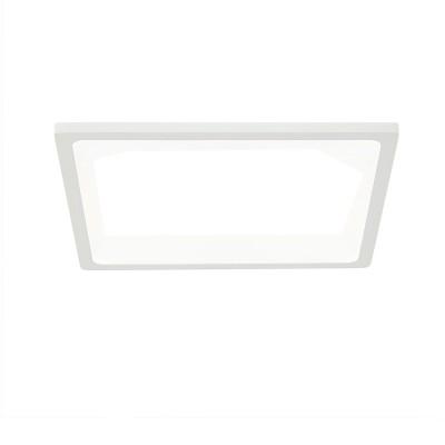 Citilux Омега CLD50K220 Светильник встраиваемыйКвадратные LED<br>Встраиваемые светильники – популярное осветительное оборудование, которое можно использовать в качестве основного источника или в дополнение к люстре. Они позволяют создать нужную атмосферу атмосферу и привнести в интерьер уют и комфорт.<br> Отличительной особенностью этой серии является минимальная глубина врезки. Она составляет всего 20 мм. Светильники представлены в трех цветах: белый, чёрный и хром.  Цветовая температура черных и хромовых светильников 3000 К. Белые светильники имеют цветовую температуру 3000К и 4000К.  Светильники имеют функцию диммера. Уровень мощности 100-50-10% управляется при помощи выключателя.<br><br>Цветовая t, К: 3000<br>Тип лампы: LED<br>Тип цоколя: LED<br>Количество ламп: 1<br>Ширина, мм: 175<br>MAX мощность ламп, Вт: 22<br>Длина, мм: 175<br>Высота, мм: 25<br>Цвет арматуры: белый
