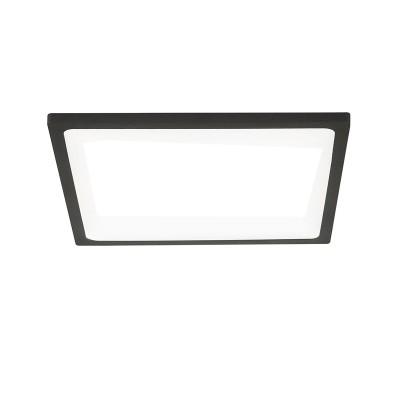 Citilux Омега CLD50K222 Светильник встраиваемыйКвадратные LED<br>Встраиваемые светильники – популярное осветительное оборудование, которое можно использовать в качестве основного источника или в дополнение к люстре. Они позволяют создать нужную атмосферу атмосферу и привнести в интерьер уют и комфорт.<br> Отличительной особенностью этой серии является минимальная глубина врезки. Она составляет всего 20 мм. Светильники представлены в трех цветах: белый, чёрный и хром.  Цветовая температура черных и хромовых светильников 3000 К. Белые светильники имеют цветовую температуру 3000К и 4000К.  Светильники имеют функцию диммера. Уровень мощности 100-50-10% управляется при помощи выключателя.<br><br>Цветовая t, К: 3000<br>Тип лампы: LED<br>Тип цоколя: LED<br>Количество ламп: 1<br>Ширина, мм: 175<br>MAX мощность ламп, Вт: 22<br>Длина, мм: 175<br>Высота, мм: 25<br>Цвет арматуры: черный