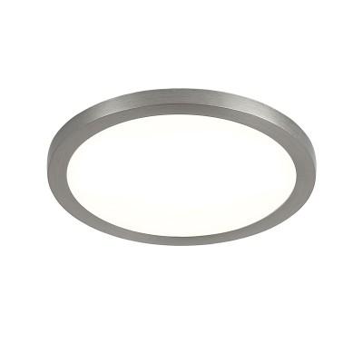 Citilux Омега CLD50R081 Светильник встраиваемыйКруглые LED<br>Встраиваемые светильники – популярное осветительное оборудование, которое можно использовать в качестве основного источника или в дополнение к люстре. Они позволяют создать нужную атмосферу атмосферу и привнести в интерьер уют и комфорт.<br> Отличительной особенностью этой серии является минимальная глубина врезки. Она составляет всего 20 мм. Светильники представлены в трех цветах: белый, чёрный и хром.  Цветовая температура черных и хромовых светильников 3000 К. Белые светильники имеют цветовую температуру 3000К и 4000К.  Светильники имеют функцию диммера. Уровень мощности 100-50-10% управляется при помощи выключателя.<br><br>Цветовая t, К: 3000<br>Тип лампы: LED<br>Тип цоколя: LED<br>Количество ламп: 1<br>MAX мощность ламп, Вт: 8<br>Диаметр, мм мм: 90<br>Высота, мм: 25<br>Цвет арматуры: серебристый
