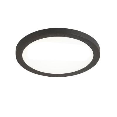 Citilux Омега CLD50R082 Светильник встраиваемыйКруглые LED<br>Встраиваемые светильники – популярное осветительное оборудование, которое можно использовать в качестве основного источника или в дополнение к люстре. Они позволяют создать нужную атмосферу атмосферу и привнести в интерьер уют и комфорт.<br> Отличительной особенностью этой серии является минимальная глубина врезки. Она составляет всего 20 мм. Светильники представлены в трех цветах: белый, чёрный и хром.  Цветовая температура черных и хромовых светильников 3000 К. Белые светильники имеют цветовую температуру 3000К и 4000К.  Светильники имеют функцию диммера. Уровень мощности 100-50-10% управляется при помощи выключателя.<br><br>Цветовая t, К: 3000<br>Тип лампы: LED<br>Тип цоколя: LED<br>Количество ламп: 1<br>MAX мощность ламп, Вт: 8<br>Диаметр, мм мм: 90<br>Высота, мм: 25<br>Цвет арматуры: черный