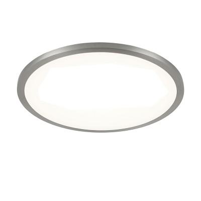 Citilux Омега CLD50R151 Светильник встраиваемыйКруглые LED<br>Встраиваемые светильники – популярное осветительное оборудование, которое можно использовать в качестве основного источника или в дополнение к люстре. Они позволяют создать нужную атмосферу атмосферу и привнести в интерьер уют и комфорт.<br> Отличительной особенностью этой серии является минимальная глубина врезки. Она составляет всего 20 мм. Светильники представлены в трех цветах: белый, чёрный и хром.  Цветовая температура черных и хромовых светильников 3000 К. Белые светильники имеют цветовую температуру 3000К и 4000К.  Светильники имеют функцию диммера. Уровень мощности 100-50-10% управляется при помощи выключателя.<br><br>Цветовая t, К: 3000<br>Тип лампы: LED<br>Тип цоколя: LED<br>Количество ламп: 1<br>MAX мощность ламп, Вт: 15<br>Диаметр, мм мм: 145<br>Высота, мм: 25<br>Цвет арматуры: серебристый