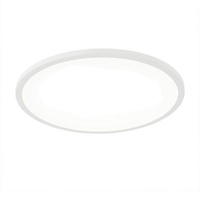 Citilux Омега CLD50R220 Светильник встраиваемыйКруглые LED<br>Встраиваемые светильники – популярное осветительное оборудование, которое можно использовать в качестве основного источника или в дополнение к люстре. Они позволяют создать нужную атмосферу атмосферу и привнести в интерьер уют и комфорт.<br> Отличительной особенностью этой серии является минимальная глубина врезки. Она составляет всего 20 мм. Светильники представлены в трех цветах: белый, чёрный и хром.  Цветовая температура черных и хромовых светильников 3000 К. Белые светильники имеют цветовую температуру 3000К и 4000К.  Светильники имеют функцию диммера. Уровень мощности 100-50-10% управляется при помощи выключателя.<br><br>Цветовая t, К: 3000<br>Тип лампы: LED<br>Тип цоколя: LED<br>Количество ламп: 1<br>MAX мощность ламп, Вт: 22<br>Диаметр, мм мм: 175<br>Высота, мм: 25<br>Цвет арматуры: белый