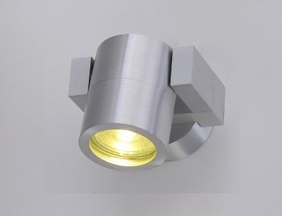 Светильник настенный бра Crystal lux CLT 020CW AL 1400/700одиночные споты<br>Светильники-споты – это оригинальные изделия с современным дизайном. Они позволяют не ограничивать свою фантазию при выборе освещения для интерьера. Такие модели обеспечивают достаточно качественный свет. Благодаря компактным размерам Вы можете использовать несколько спотов для одного помещения.  Интернет-магазин «Светодом» предлагает необычный светильник-спот Crystal lux CLT 020CW AL по привлекательной цене. Эта модель станет отличным дополнением к люстре, выполненной в том же стиле. Перед оформлением заказа изучите характеристики изделия.  Купить светильник-спот Crystal lux CLT 020CW AL в нашем онлайн-магазине Вы можете либо с помощью формы на сайте, либо по указанным выше телефонам. Обратите внимание, что у нас склады не только в Москве и Екатеринбурге, но и других городах России.<br><br>S освещ. до, м2: 2<br>Тип цоколя: GU10<br>Цвет арматуры: Серебристый алюминий<br>Количество ламп: 1<br>Ширина, мм: 100<br>Длина, мм: 90<br>Высота, мм: 72<br>MAX мощность ламп, Вт: 35