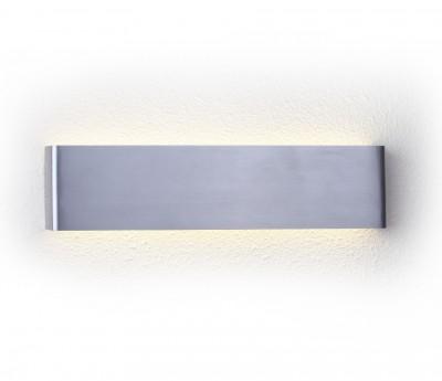 Светильник настенный бра Crystal lux CLT 323W360 AL 1400/409Хай-тек<br><br><br>Цветовая t, К: 4000K<br>Тип цоколя: LED<br>Цвет арматуры: Серебристый алюминий<br>Количество ламп: 1<br>Ширина, мм: 35<br>Длина, мм: 360<br>Высота, мм: 90<br>MAX мощность ламп, Вт: 16