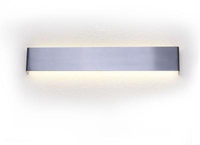 Светильник настенный бра Crystal lux CLT 323W535 AL 1400/410Бра хай тек стиля<br><br><br>Цветовая t, К: 4000K<br>Тип цоколя: LED<br>Цвет арматуры: Серебристый алюминий<br>Количество ламп: 1<br>Ширина, мм: 35<br>Длина, мм: 535<br>Высота, мм: 90<br>MAX мощность ламп, Вт: 24