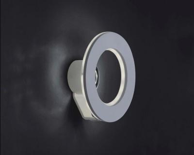 Светильник настенный бра Crystal lux CLT 329W220 1400/420Бра хай тек стиля<br><br><br>Цветовая t, К: 4000K<br>Тип цоколя: LED<br>Цвет арматуры: Белый<br>Количество ламп: 12<br>Ширина, мм: 95<br>Диаметр, мм мм: 220<br>Высота, мм: 220<br>MAX мощность ламп, Вт: 1