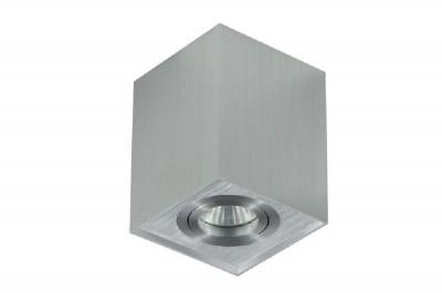 Светильник потолочный Crystal lux CLT 420C AL 1400/109одиночные споты<br>Светильники-споты – это оригинальные изделия с современным дизайном. Они позволяют не ограничивать свою фантазию при выборе освещения для интерьера. Такие модели обеспечивают достаточно качественный свет. Благодаря компактным размерам Вы можете использовать несколько спотов для одного помещения.  Интернет-магазин «Светодом» предлагает необычный светильник-спот Crystal lux CLT 420C AL по привлекательной цене. Эта модель станет отличным дополнением к люстре, выполненной в том же стиле. Перед оформлением заказа изучите характеристики изделия.  Купить светильник-спот Crystal lux CLT 420C AL в нашем онлайн-магазине Вы можете либо с помощью формы на сайте, либо по указанным выше телефонам. Обратите внимание, что у нас склады не только в Москве и Екатеринбурге, но и других городах России.<br><br>S освещ. до, м2: 3<br>Тип цоколя: GU10<br>Цвет арматуры: Серебристый алюминий<br>Количество ламп: 1<br>Ширина, мм: 96<br>Длина, мм: 96<br>Высота, мм: 125<br>MAX мощность ламп, Вт: 50