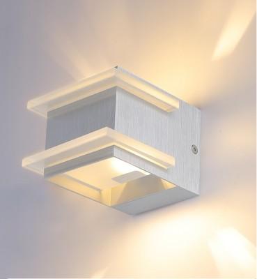 Светильник настенный бра Crystal lux CLT 421W AL 1400/421Бра хай тек стиля<br><br><br>Тип цоколя: G9<br>Цвет арматуры: Серебристый алюминий<br>Количество ламп: 1<br>Ширина, мм: 100<br>Длина, мм: 120<br>Высота, мм: 80<br>MAX мощность ламп, Вт: 40