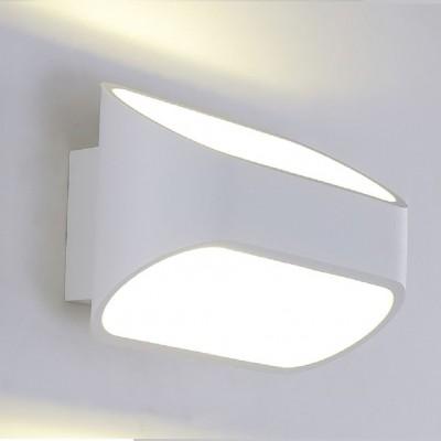 Светильник настенный бра Crystal lux CLT 510W WH 1400/425Современные<br><br><br>Цветовая t, К: 4000K<br>Тип цоколя: LED<br>Цвет арматуры: Белый<br>Количество ламп: 1<br>Ширина, мм: 91<br>Длина, мм: 160<br>Высота, мм: 100<br>MAX мощность ламп, Вт: 6