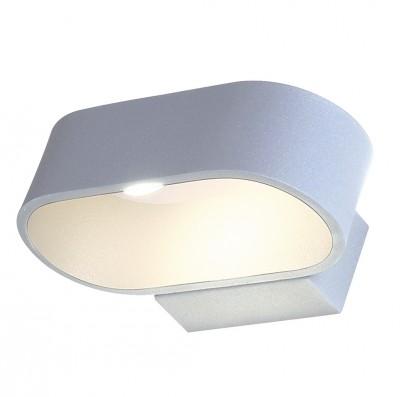 Светильник настенный бра Crystal lux CLT 511W150 WH 1400/431современные бра модерн<br><br><br>Цветовая t, К: 4000K<br>Тип цоколя: LED<br>Цвет арматуры: Белый<br>Количество ламп: 1<br>Ширина, мм: 110<br>Длина, мм: 150<br>Высота, мм: 50<br>MAX мощность ламп, Вт: 6