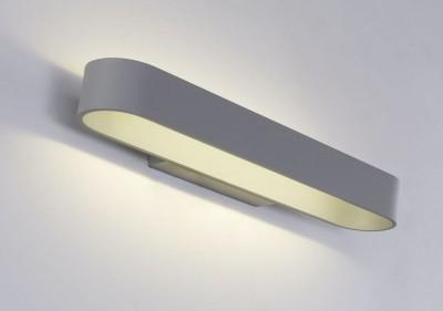 Светильник настенный бра Crystal lux CLT 511W425 GR 1400/428Современные<br><br><br>Цветовая t, К: 4000K<br>Тип цоколя: LED<br>Цвет арматуры: Серый<br>Количество ламп: 1<br>Ширина, мм: 110<br>Длина, мм: 425<br>Высота, мм: 50<br>MAX мощность ламп, Вт: 12