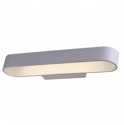 Светильник настенный бра Crystal lux CLT 511W425 WH 1400/433Современные<br><br><br>Цветовая t, К: 4000K<br>Тип цоколя: LED<br>Цвет арматуры: Белый<br>Количество ламп: 1<br>Ширина, мм: 110<br>Длина, мм: 425<br>Высота, мм: 50<br>MAX мощность ламп, Вт: 12
