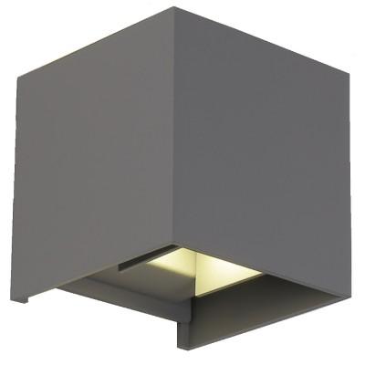 Светильник настенный бра Crystal lux CLT 520W GR 1400/429Бра хай тек стиля<br><br><br>Цветовая t, К: 4000K<br>Тип цоколя: LED<br>Цвет арматуры: Серый<br>Количество ламп: 1<br>Ширина, мм: 100<br>Длина, мм: 100<br>Высота, мм: 100<br>MAX мощность ламп, Вт: 6