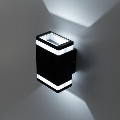 Citilux CLU0005D Уличный настенный светильникНастенные<br>Обеспечение качественного уличного освещения – важная задача для владельцев коттеджей. Компания «Светодом» предлагает современные светильники, которые порадуют Вас отличным исполнением. В нашем каталоге представлена продукция известных производителей, пользующихся популярностью благодаря высокому качеству выпускаемых товаров. <br> Уличный светильник Citilux CLU0005D не просто обеспечит качественное освещение, но и станет украшением Вашего участка. Модель выполнена из современных материалов и имеет влагозащитный корпус, благодаря которому ей не страшны осадки. <br> Купить уличный светильник Citilux CLU0005D, представленный в нашем каталоге, можно с помощью онлайн-формы для заказа. Чтобы задать имеющиеся вопросы, звоните нам по указанным телефонам. Мы доставим Ваш заказ не только в Москву и Екатеринбург, но и другие города.<br><br>Цветовая t, К: 4000K<br>Тип лампы: LED-светодиодная<br>Тип цоколя: LED<br>Количество ламп: 2<br>Ширина, мм: 110<br>MAX мощность ламп, Вт: 6<br>Длина, мм: 90<br>Высота, мм: 165