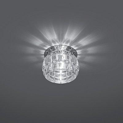 Светильник Gauss Crystal CR002, G9Хрустальные<br>Встраиваемые светильники – популярное осветительное оборудование, которое можно использовать в качестве основного источника или в дополнение к люстре. Они позволяют создать нужную атмосферу атмосферу и привнести в интерьер уют и комфорт.   Интернет-магазин «Светодом» предлагает стильный встраиваемый светильник Gauss Crystal CR002. Данная модель достаточно универсальна, поэтому подойдет практически под любой интерьер. Перед покупкой не забудьте ознакомиться с техническими параметрами, чтобы узнать тип цоколя, площадь освещения и другие важные характеристики.   Приобрести встраиваемый светильник Gauss Crystal CR002 в нашем онлайн-магазине Вы можете либо с помощью «Корзины», либо по контактным номерам. Мы развозим заказы по Москве, Екатеринбургу и остальным российским городам.<br><br>S освещ. до, м2: 3<br>Тип лампы: галогенная<br>Тип цоколя: G9<br>Количество ламп: 1<br>MAX мощность ламп, Вт: 50<br>Диаметр, мм мм: 80<br>Диаметр врезного отверстия, мм: 50<br>Высота, мм: 75