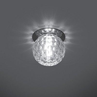 Светильник Gauss Crystal CR003, G9Хрустальные<br>Встраиваемые светильники – популярное осветительное оборудование, которое можно использовать в качестве основного источника или в дополнение к люстре. Они позволяют создать нужную атмосферу атмосферу и привнести в интерьер уют и комфорт.   Интернет-магазин «Светодом» предлагает стильный встраиваемый светильник Gauss Crystal CR003. Данная модель достаточно универсальна, поэтому подойдет практически под любой интерьер. Перед покупкой не забудьте ознакомиться с техническими параметрами, чтобы узнать тип цоколя, площадь освещения и другие важные характеристики.   Приобрести встраиваемый светильник Gauss Crystal CR003 в нашем онлайн-магазине Вы можете либо с помощью «Корзины», либо по контактным номерам. Мы развозим заказы по Москве, Екатеринбургу и остальным российским городам.<br><br>S освещ. до, м2: 3<br>Тип лампы: галогенная<br>Тип цоколя: G9<br>Количество ламп: 1<br>MAX мощность ламп, Вт: 50<br>Диаметр, мм мм: 80<br>Диаметр врезного отверстия, мм: 50<br>Высота, мм: 90