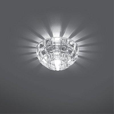 Светильник Gauss Crystal CR019, G9Декоративные<br>Встраиваемые светильники – популярное осветительное оборудование, которое можно использовать в качестве основного источника или в дополнение к люстре. Они позволяют создать нужную атмосферу атмосферу и привнести в интерьер уют и комфорт.   Интернет-магазин «Светодом» предлагает стильный встраиваемый светильник Gauss Crystal CR019. Данная модель достаточно универсальна, поэтому подойдет практически под любой интерьер. Перед покупкой не забудьте ознакомиться с техническими параметрами, чтобы узнать тип цоколя, площадь освещения и другие важные характеристики.   Приобрести встраиваемый светильник Gauss Crystal CR019 в нашем онлайн-магазине Вы можете либо с помощью «Корзины», либо по контактным номерам. Мы развозим заказы по Москве, Екатеринбургу и остальным российским городам.<br><br>S освещ. до, м2: 3<br>Тип лампы: галогенная<br>Тип цоколя: GU5.3 (MR16)<br>Количество ламп: 1<br>MAX мощность ламп, Вт: 50<br>Диаметр, мм мм: 95<br>Диаметр врезного отверстия, мм: 50<br>Высота, мм: 60