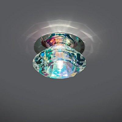 Светильник Gauss Crystal CR034, G4Хрустальные<br>Встраиваемые светильники – популярное осветительное оборудование, которое можно использовать в качестве основного источника или в дополнение к люстре. Они позволяют создать нужную атмосферу атмосферу и привнести в интерьер уют и комфорт.   Интернет-магазин «Светодом» предлагает стильный встраиваемый светильник Gauss Crystal CR034. Данная модель достаточно универсальна, поэтому подойдет практически под любой интерьер. Перед покупкой не забудьте ознакомиться с техническими параметрами, чтобы узнать тип цоколя, площадь освещения и другие важные характеристики.   Приобрести встраиваемый светильник Gauss Crystal CR034 в нашем онлайн-магазине Вы можете либо с помощью «Корзины», либо по контактным номерам. Мы развозим заказы по Москве, Екатеринбургу и остальным российским городам.<br><br>S освещ. до, м2: 3<br>Тип лампы: галогенная<br>Тип цоколя: G4<br>Количество ламп: 1<br>MAX мощность ламп, Вт: 50<br>Диаметр, мм мм: 80<br>Диаметр врезного отверстия, мм: 50<br>Высота, мм: 55<br>Цвет арматуры: серебристый