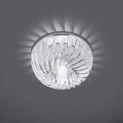Светильник Gauss Crystal CR057 Кристал/Хром, G9Хрустальные<br>Встраиваемые светильники – популярное осветительное оборудование, которое можно использовать в качестве основного источника или в дополнение к люстре. Они позволяют создать нужную атмосферу атмосферу и привнести в интерьер уют и комфорт.   Интернет-магазин «Светодом» предлагает стильный встраиваемый светильник Gauss Crystal CR057. Данная модель достаточно универсальна, поэтому подойдет практически под любой интерьер. Перед покупкой не забудьте ознакомиться с техническими параметрами, чтобы узнать тип цоколя, площадь освещения и другие важные характеристики.   Приобрести встраиваемый светильник Gauss Crystal CR057 в нашем онлайн-магазине Вы можете либо с помощью «Корзины», либо по контактным номерам. Мы развозим заказы по Москве, Екатеринбургу и остальным российским городам.<br><br>S освещ. до, м2: 3<br>Тип лампы: галогенная<br>Тип цоколя: G9<br>Количество ламп: 1<br>MAX мощность ламп, Вт: 50<br>Диаметр, мм мм: 90<br>Диаметр врезного отверстия, мм: 65<br>Высота, мм: 50<br>Цвет арматуры: серебристый