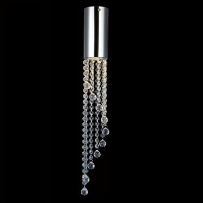 Светильник потолочный Crystal lux CREEK PL P 1480/101Pнакладные точечные светильники<br>Светильники-споты – это оригинальные изделия с современным дизайном. Они позволяют не ограничивать свою фантазию при выборе освещения для интерьера. Такие модели обеспечивают достаточно качественный свет. Благодаря компактным размерам Вы можете использовать несколько спотов для одного помещения. <br>Интернет-магазин «Светодом» предлагает необычный светильник-спот Crystal lux CREEK PL P по привлекательной цене. Эта модель станет отличным дополнением к люстре, выполненной в том же стиле. Перед оформлением заказа изучите характеристики изделия. <br>Купить светильник-спот Crystal lux CREEK PL P в нашем онлайн-магазине Вы можете либо с помощью формы на сайте, либо по указанным выше телефонам. Обратите внимание, что у нас склады не только в Москве и Екатеринбурге, но и других городах России.<br><br>S освещ. до, м2: 3<br>Тип цоколя: GU10<br>Цвет арматуры: Серебристый Серебристый хром<br>Количество ламп: 1<br>Диаметр, мм мм: 77<br>Высота, мм: 550<br>MAX мощность ламп, Вт: 50