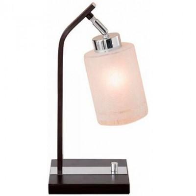 Citilux Фортуна CL156811 Настольная лампаСовременные<br>Настольная лампа – это не просто источник дополнительного освещения, но и оригинальный элемент декора. Его можно установить в спальне, гостиной, кабинете и других комнатах. Интернет-магазин «Светодом» предлагает настольные лампы разных стилей по доступным ценам. Благодаря большому ассортименту Вы обязательно найдете в нашем каталоге именно ту модель, которую искали. <br> Настольная лампа Citilux CL156811 – прекрасный вариант для завершения интерьера. Ее можно включить одновременно с люстрой для более яркого освещения или без нее для создания уютной атмосферы, настраивающей на отдых. <br> Купить настольную лампу Citilux CL156811 Вы можете с помощью виртуальной «Корзины» или по контактным номерам, указанным на сайте.<br><br>S освещ. до, м2: 5<br>Тип лампы: накаливания / энергосбережения / LED-светодиодная<br>Тип цоколя: E27<br>Цвет арматуры: серебристый хром, венге<br>Количество ламп: 1<br>Ширина, мм: 140<br>Размеры: Габариты основания 14х16 см, Высота 38 см, с диммером, Белое выдувное стекло<br>Длина, мм: 160<br>Высота, мм: 380<br>Поверхность арматуры: глянцевый, матовый<br>Оттенок (цвет): белый<br>MAX мощность ламп, Вт: 75