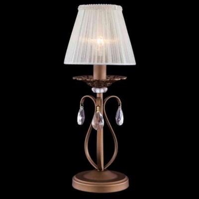 Citilux CL411811 Настольная лампаКлассические<br>Настольная лампа Citilux CL411811 создана датским производителем в форме изысканного подсвечного аксессуара. Элегантная конструкция наполнена благородным кофейным оттенком, нежно обволакивающим изделие. Так создаётся некая таинственность и притягательность всего аксессуара света. Особым преимуществом настольной лампы Citilux CL411811 является полупрозрачный текстильный абажур белоснежного оттенка. Однако и это ещё не всё. Представленное изделие декорировано хрустальными камнями в форме капель росы. Такая эстетика притягивает внимание и очаровывает с первого взгляда на неё. Пора и Вам выбрать благородство в виде настенной лампы Citilux CL411811!<br><br>S освещ. до, м2: 4<br>Тип лампы: накал-я - энергосбер-я<br>Тип цоколя: E14<br>Количество ламп: 1<br>MAX мощность ламп, Вт: 60<br>Диаметр, мм мм: 200<br>Размеры: Поставляется без абажура, абажур приобретается отдельно<br>Высота, мм: 400<br>Поверхность арматуры: матовый<br>Цвет арматуры: коричневый