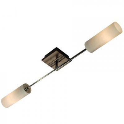 Citilux Болеро CL118121 Светильник настенный браСовременные<br>Настенное бра Citilux CL118121 представлено в ультрамодном направлении модерн, уникальном для реализации интересных дизайнерских задумок. Для создания изделия были использованы разноплановые материалы: натуральное дерево, крепкий металл и прочное стекло. Сильный тандем для мощного настенного бра! Цилиндрическая форма двух белоснежных плафонов гармонично вписывается в общую концепцию направления модерн. Бра Citilux CL118121 станет предпочтением для ценителей лаконичной геометрии и правильных форм. Современный интерьер требует особого подхода к декорированию. Поэтому если Вы планируете наполнить своё пространство модным светом, то обращайтесь к бра Citilux CL118121.<br><br>S освещ. до, м2: 8<br>Тип лампы: накаливания / энергосбережения / LED-светодиодная<br>Тип цоколя: E14<br>Количество ламп: 2<br>MAX мощность ламп, Вт: 60<br>Размеры: Высота 10см, Длина 70см, на основании деревянная накладка цвета Венге<br>Длина, мм: 700<br>Высота, мм: 100<br>Цвет арматуры: серебристый хром, венге