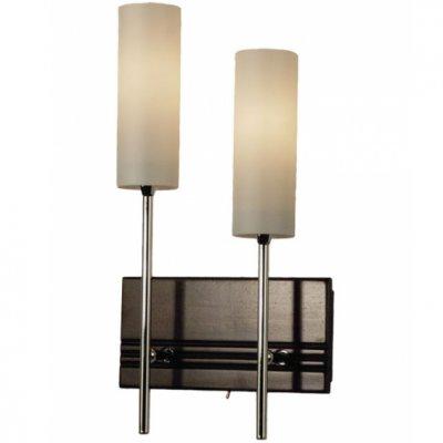 Citilux Болеро CL118321 Светильник настенный браМодерн<br>Настенное бра Citilux CL118321 презентовано датским производителем, как образцовое искусство в ультрамодном стиле модерн, уникальном для реализации оригинальных дизайнерских задумок. Для создания изделия были использованы различные материалы: натуральное дерево, крепкий металл и прочное стекло. Это поистине сильный тандем для настенного бра! Цилиндрическая форма белоснежных плафонов гармонично вписывается в общую концепцию модерн. Бра Citilux CL118321 станет подарком для ценителей лаконичной геометрии и правильных форм. Современный интерьер требует особого подхода к декорированию. Если Вы планируете наполнить пространство модным светом, то обращайтесь к бра Citilux CL118321.<br><br>S освещ. до, м2: 8<br>Тип товара: Светильник настенный бра<br>Тип лампы: накаливания / энергосбережения / LED-светодиодная<br>Тип цоколя: E14<br>Количество ламп: 2<br>Ширина, мм: 200<br>MAX мощность ламп, Вт: 60<br>Размеры: Высота 36см, Ширина 20см, Глубина 9см, с выключателем, на основании деревянная накладка цвета Венге<br>Расстояние от стены, мм: 90<br>Высота, мм: 360<br>Поверхность арматуры: матовый, глянцевый<br>Цвет арматуры: серебристый