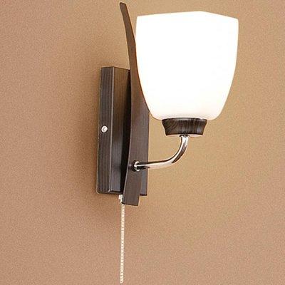 Citilux Марго CL129311 Светильник настенный браРустика<br><br><br>S освещ. до, м2: 5<br>Крепление: крюк<br>Тип лампы: накаливания / энергосбережения / LED-светодиодная<br>Тип цоколя: E27<br>Количество ламп: 1<br>Ширина, мм: 120<br>MAX мощность ламп, Вт: 75<br>Размеры: Ширина 12см, Высота 26см, Глубина 15см, с выключателем<br>Расстояние от стены, мм: 150<br>Высота, мм: 260<br>Поверхность арматуры: глянцевый<br>Цвет арматуры: серебристый хром, венге