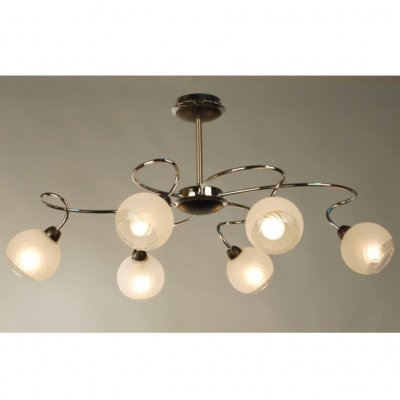 Citilux Одиссей CL130161 ЛюстраПотолочные<br><br><br>Установка на натяжной потолок: Да<br>S освещ. до, м2: 24<br>Крепление: Планка<br>Тип товара: Люстра<br>Тип лампы: накаливания / энергосбережения / LED-светодиодная<br>Тип цоколя: E14<br>Количество ламп: 6<br>MAX мощность ламп, Вт: 60<br>Диаметр, мм мм: 820*560<br>Размеры: Габариты 82x56 см. Высота 42 см.<br>Высота, мм: 450<br>Поверхность арматуры: глянцевый<br>Цвет арматуры: серебристый