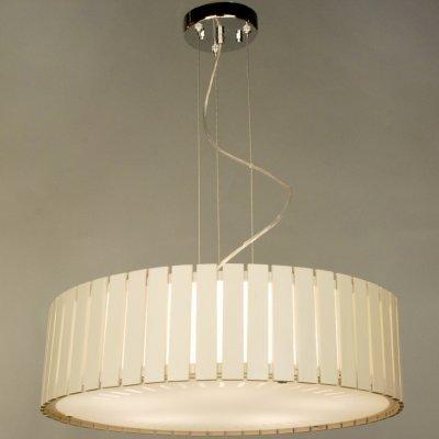Citilux Ямато CL137252 Люстра подвеснаяПодвесные<br>Безупречный стиль модерн в освещении – это выбор в пользу модной лаконичности. Подвесная люстра Citilux CL137252- прекрасный образец этой дизайнерской деликатности. Светильник имеет мягкую геометрию, формируя мощный очаг света. При этом отсутствуют лишние детали, нагромождающие элементы, вычурный декор. Что может быть привлекательнее выверенного изделия для функционального и модного освещения? Стоит отметить и экологичность подвесной люстры Citilux CL137252. В создании изделия был использован эко шпон, белый цвет которого придаёт светильнику кристальную чистоту и изысканность, что выигрышно украсит любой интерьер. Не проходите мимо действительно модной и стильной подвесной люстры Citilux CL137252!<br><br>Установка на натяжной потолок: Да<br>S освещ. до, м2: 25<br>Крепление: Планка<br>Тип лампы: накаливания / энергосбережения / LED-светодиодная<br>Тип цоколя: E27<br>Количество ламп: 5<br>MAX мощность ламп, Вт: 75<br>Диаметр, мм мм: 500<br>Размеры: Диаметр 50см, Высота 22…100см<br>Высота, мм: 1000<br>Поверхность арматуры: глянцевый<br>Оттенок (цвет): белый<br>Цвет арматуры: белый