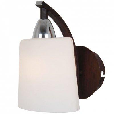 Citilux Астра CL138311 Светильник настенный браСовременные<br>Компактный настенный светильник бра Citilux CL138311 отражает в себе все основные черты стиля «модерн»: современную, оригинальную конструкцию и эффектное сочетание цветовых оттенков! Белый матовый плафон из выдувного стекла создает «мягкое», комфортное для зрения освещение. Светильник можно использовать не только для подсветки, но и в качестве ночника. Лучше всего цветовую гамму интерьера подбирать в аналогичных или похожих тонах, чтобы помещение выглядело уютным и гармоничным. Рекомендуем Вам приобретать бра в комплекте из нескольких экземпляров и люстрой из этой же серии для создания «единого» стиля комнаты.<br><br>S освещ. до, м2: 4<br>Крепление: настенное<br>Тип лампы: накаливания / энергосбережения / LED-светодиодная<br>Тип цоколя: E14<br>Количество ламп: 1<br>Ширина, мм: 140<br>MAX мощность ламп, Вт: 60<br>Размеры: С Выключателем, Высота 20см, Ширина 14см, Глубина 16см, Белое выдувное стекло<br>Расстояние от стены, мм: 160<br>Высота, мм: 200<br>Поверхность арматуры: матовый, глянцевый<br>Оттенок (цвет): белый<br>Цвет арматуры: серебристый хром, венге