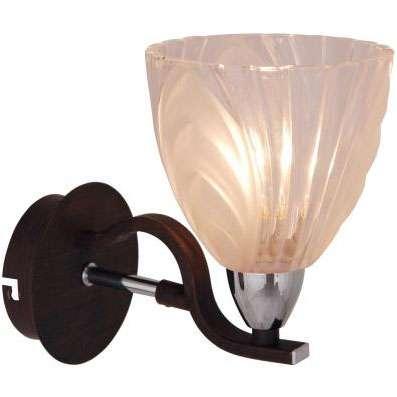 Citilux Симона CL144311 Светильник настенный браМодерн<br><br><br>S освещ. до, м2: 4<br>Крепление: настенное<br>Тип лампы: накаливания / энергосбережения / LED-светодиодная<br>Тип цоколя: E14<br>Количество ламп: 1<br>Ширина, мм: 120<br>MAX мощность ламп, Вт: 60<br>Размеры: Высота 17см, Ширина 12см, Глубина 16см, прозрачно/матовое стекло, с выключателем<br>Расстояние от стены, мм: 160<br>Высота, мм: 170<br>Поверхность арматуры: глянцевый<br>Оттенок (цвет): белый<br>Цвет арматуры: серебристый хром, венге